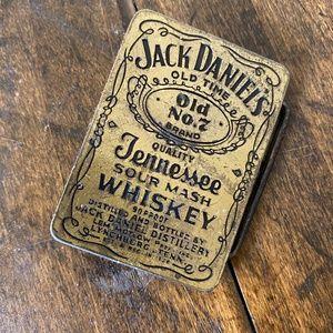 JACK DANIELS Whiskey Vintage Belt Gold Buckle MENS